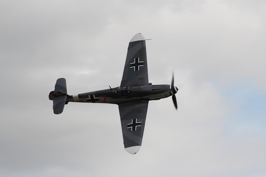 """De """"Bf 109G-4"""" (SGLO – @P. Righart van Gelder)"""