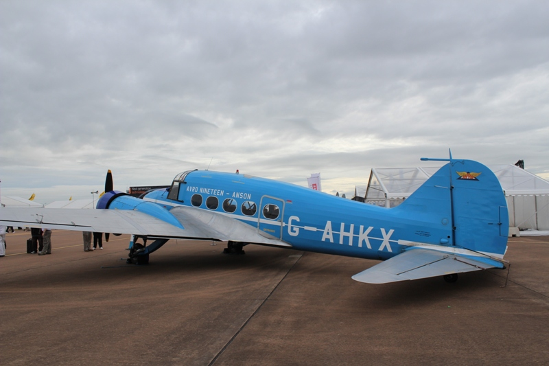 Avro Anson C.19 G-AHKX (@P. Righart van Gelder)