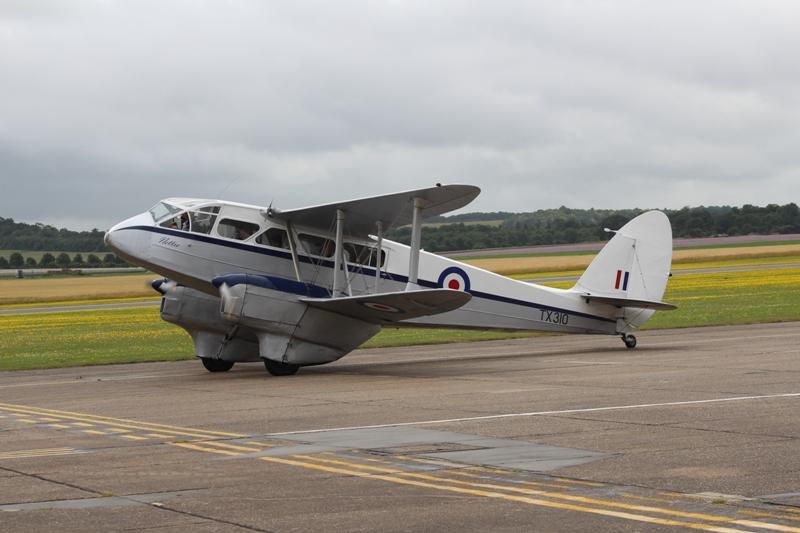 DH-89A Rapide TX310 vlak voor vertrek voor een rondvlucht (@P. Righart van Gelder)