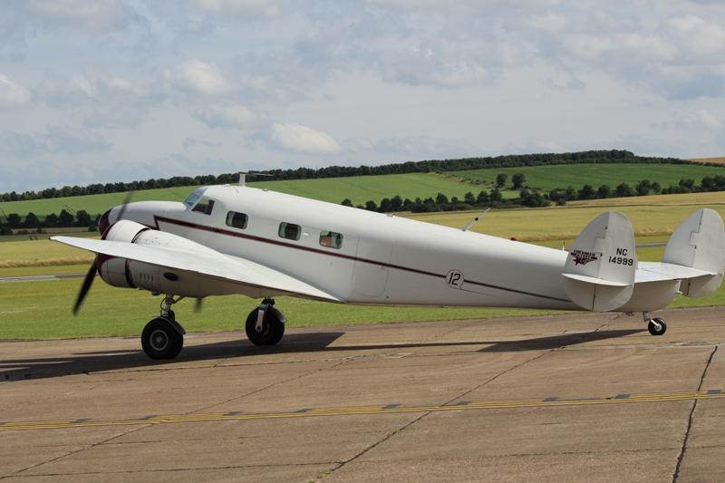 Lockheed 12A NC14999 (@P. Righart van Gelder)