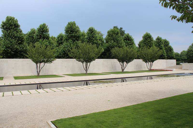 1.722 namen staan op de Wall of the Missing (SGLO - @P. Righart van Gelder)