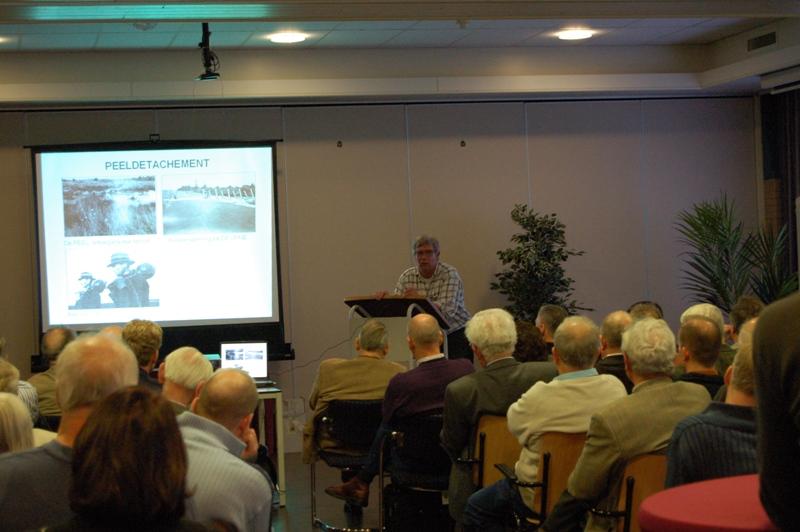Ruud Wildekamp tijdens zijn lezing (SGLO – Archive)