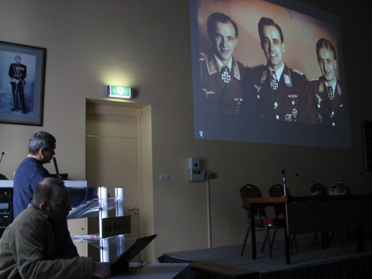 Cynrik de Decker, Wim Govaerts en de laatste Schnaufer Bezatsung (SGLO – @H.M. van Sabben)