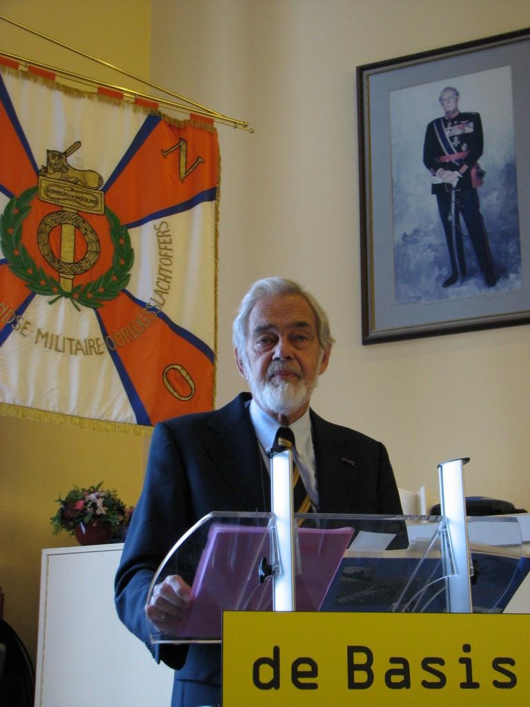 Vice-Admiraal bd R.J. Idzerda (SGLO – @H.M. van Sabben)