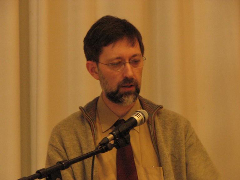 Peter Grimm voert het woord (SGLO – Archive)