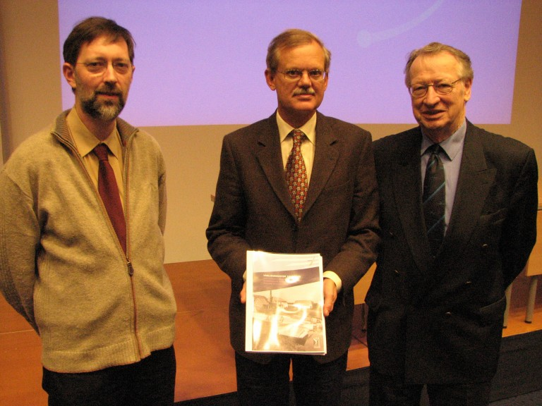 Peter Grimm, Piet Kamphuis en Frans Auwerda (SGLO – Archive)