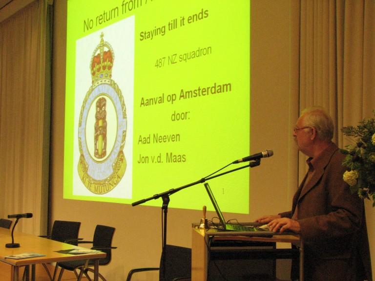Aad Neeven over de Ventura aanvallen op Amsterdam (SGLO – Archive)