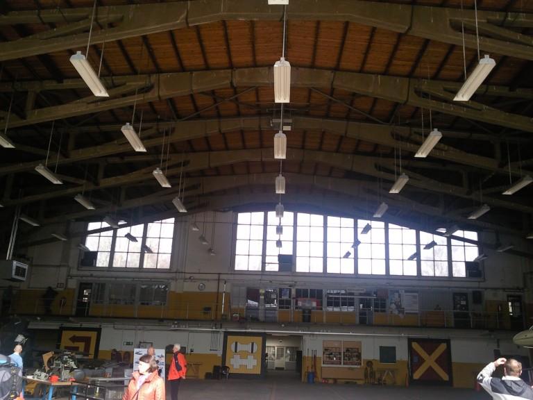 De enorme omvang van de Junkerhalle is op deze foto duidelijk zichtbaar (SGLO – Archive)
