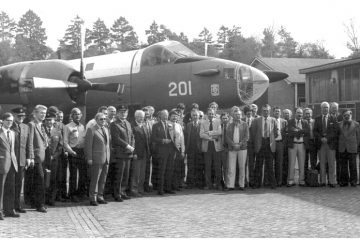 Alle aanwezigen incl. ZKH Prins Bernhard (SGLO - Archive)