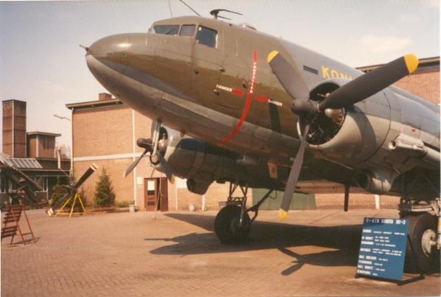 De Douglas C-47 van het MLM (SGLO – Archive)