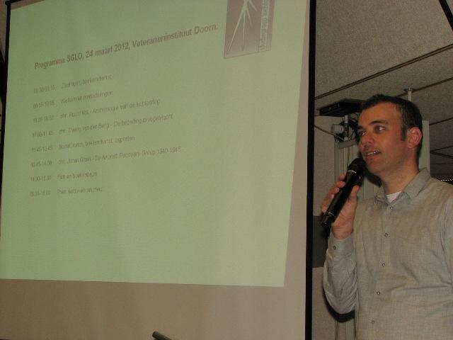 Erwin van Loo opende onze bijeenkomst (SGLO – @W. Buising)
