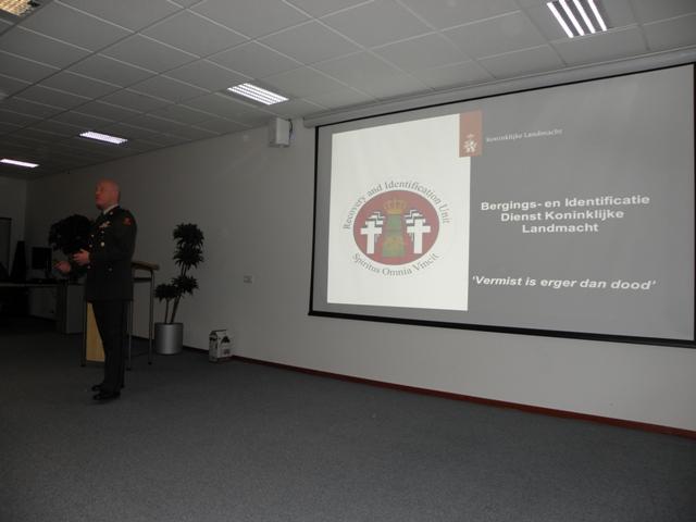 Patric van Aalderen tijdens zijn presentatie over de BIDKL (SGLO – @Wijbe Buising)