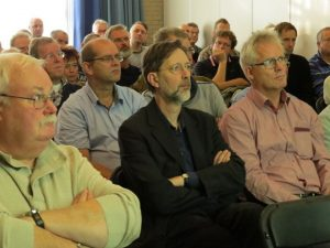 Harm van der Laan, Peter Grimm en Arie-Jan van Hees(SGLO – @Huub van Sabben)