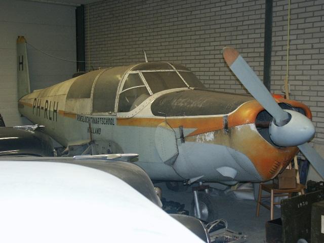 Saab 91 PH-RLH te Hoogesmilde (Foto: Pieter Plomp via Peter Kaathoven)