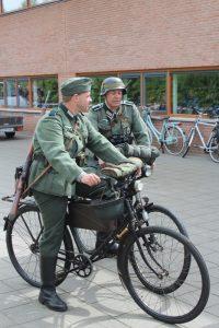 Duitsers op de fiets