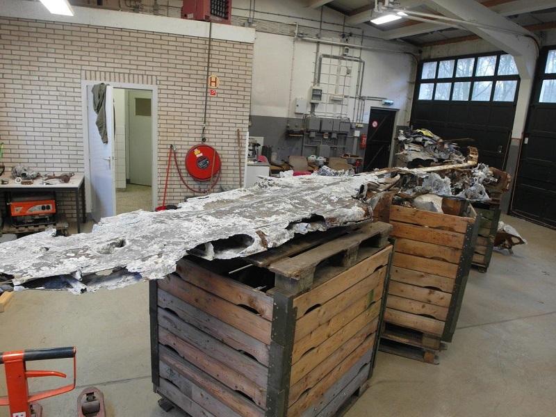 Onderdelen van de Messerschmitt (@Pieter Plomp)