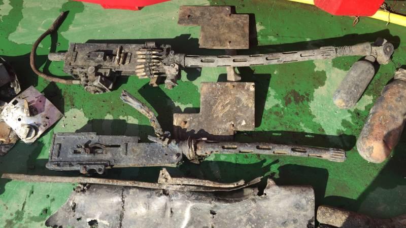 Machinegeweren uit de Vickers Wellington (NOS Marc-Robin Visscher)