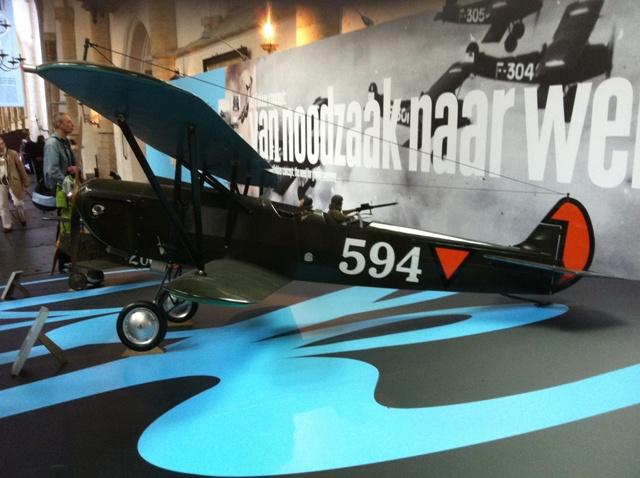 Fokker C.5 schaalmodel (SGLO – @P. Righart van Gelder)