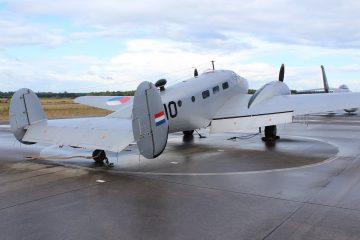 Beech T-7 G-10 voorheen PH-UDT (@P. Righart van Gelder - SGLO )